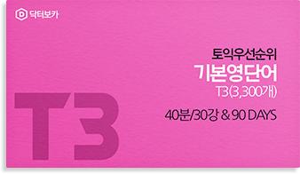 新토익 기본영단어 T3 (3,300개)
