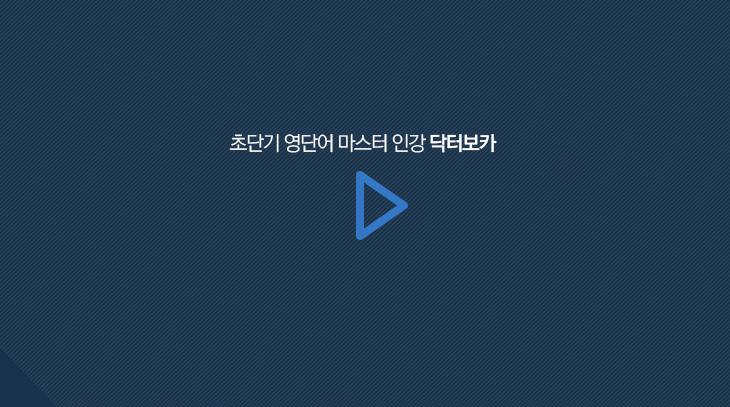 초단기 영단어 마스터 인강 닥터보카